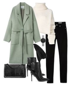 """Untitled #4860"" by theeuropeancloset ❤ liked on Polyvore featuring Ann Demeulemeester, Alexander Wang, Daniel Wellington and Hermès"