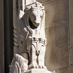 Art Deco Gryphon