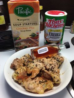 cranberry pear balsamic chicken -- kids loved this!