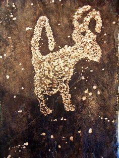 Petroglyph at Casa Grande Ruins Coolidge AZ - by K e v i n, via Flickr
