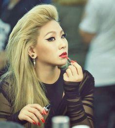 Maybelline New York X CL 'Summer Make-up Collaboration' Lip Polish Daring Red Chaelin Lee, Rapper, Lee Chaerin, Cl 2ne1, Sandara Park, Pop Songs, Kpop, Korean Singer, Maybelline