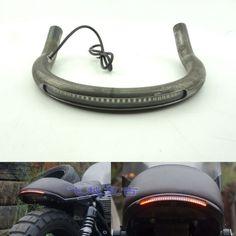 Universal Motorcycle Cafe Racer Steel Rear Seat Hoop Frame Loop Upswept CC Bike