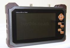 "439 Pfund inkl.,  Genie SDI57HY 7"" LCD Professional Hybrid HD-SDi CCTV Test Monitor for HDMI,HD-SDi ,VGA & CVBS Inputs"