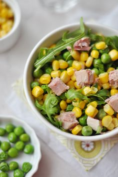 Borsós-kukoricás gluténmentes saláta - nem csak gluténérzékenyeknek.