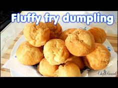 Jamaican Fluffy Fry Dumpling   Recipes By Chef Ricardo - YouTube Jamaican Fried Dumplings, Sweet Dumplings, Chicken Recipes At Home, Chicken Fajita Recipe, Jamaican Dishes, Jamaican Recipes, Tea Recipes, Snack Recipes, Cooking Recipes