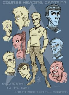 Star Trek Sketch by marimoreno.deviantart.com on @deviantART