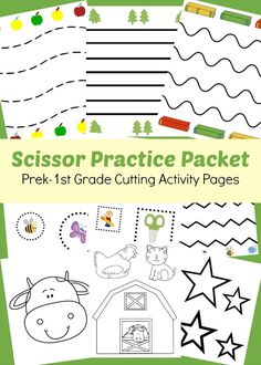 Scissor Practice Packet