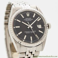 1970 Vintage Rolex Datejust Ref. 1603 Stainless Steel Watch