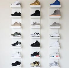 Great idea! - Ikea 'Lack' shelves @minimalmovement