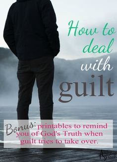 There are only two simple steps you need to know for how to deal with guilt. If left alone, guilt will destroy you, but there is a way to be set free!