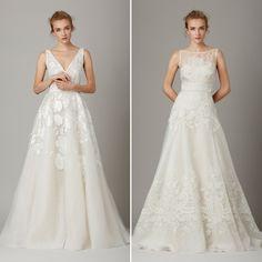 Vestido de noiva clean - Lela Rose - NY Bridal Week Fall 2016