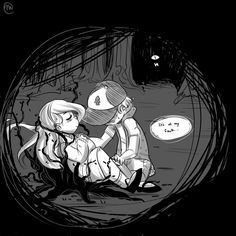 decapitatedmann: No, no, Mabel, it's my fault…It's my fault we ended up here… Everything's been my fault…
