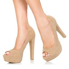 Nude heels--a must for short girls!