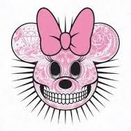 Minnie Mouse day of the dead