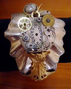 Organic Time Bracelet #HAFteam #HAFshop #handmade #gifts $72.00