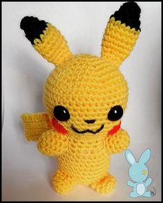 #Pikachu #Pomemon #amigurumi