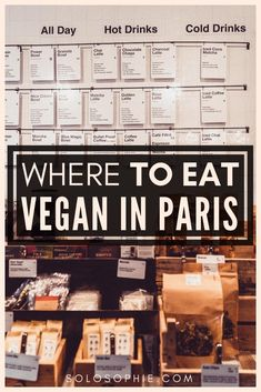 Where to Eat Vegetarian & Vegan in Paris: Tips & Restaurants Where to eat vegan and vegetarian in Paris, France. Our picks of the best cuisine and restaurant to find meat-free food in Paris. Your Parisian vegan guide; where to shop and how to order food! Paris Vegan, Hotel Des Invalides, Paris Food, Paris France Food, Vegan Restaurants, Paris Restaurants, Reisen In Europa, Order Food, French Food