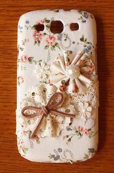 Diy Handmade Cloth Art Phone Case no.65 Victoria Garden for Samsung Galaxy S3 S4 S2 Skyrocket i727 Nexus Note 2 Sony Xperia Z SP Acro s P U