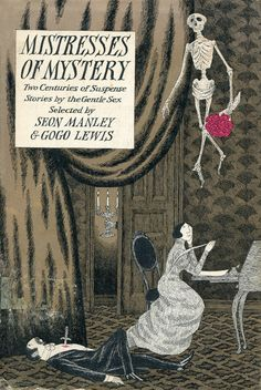 Huge fan of Edward Gorey.  This book cover is classic.  Love it.