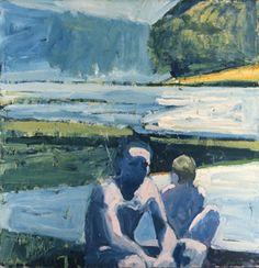 River Bathers - Paul Wonner