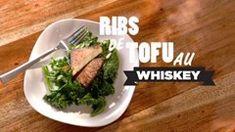 Ribs de tofu au whiskey Commentaire perso: Très déçue! Le tofu ne goûtait rien sauf la fumée liquide.