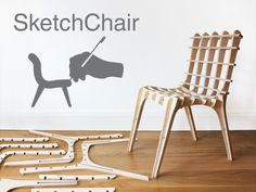 this one is pretty cool. you design a chair. u test it with a tool they provide to see if the design is sturdy enuf. then u lasercut it from the plywood and ta-da you are done.