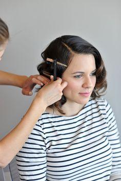 50s glamour hair sty