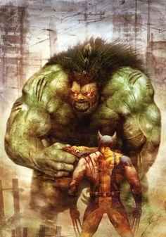 Wolverine vs. The Incredible Hulk