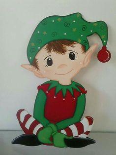 Rudy w bow tie pnc Christmas Yard Art, Christmas Wood Crafts, Christmas Swags, Christmas Projects, Holiday Crafts, Christmas Holidays, Xmas, Christmas Ornaments, Elf Decorations