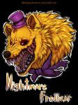 Nightmare fredbear [FNaF 4] by NiKirigamy