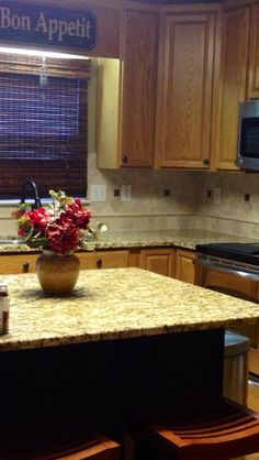 backsplash with st cecilia granite granite countertops and tile rh pinterest com