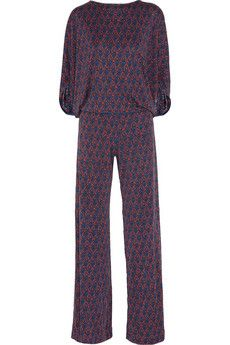 Want in my closet: ISSA printed silk jersey jumpsuit    http://rstyle.me/ic2jtkc5me