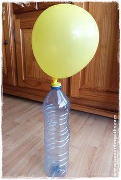 Experience scientifique pour enfant air