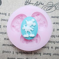 Three Holes Mouse Silicone Mold Fondant Molds Sugar Craft Tools Resin flowers Mould Molds For Cakes – AUD $ 6.84