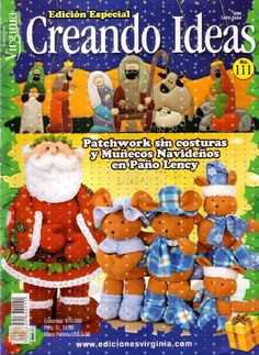 Diskussion about LiveInternet - Russisk service online dagbøger Christmas Books, Christmas And New Year, Xmas, Christmas Ornaments, Book Crafts, Felt Crafts, Diy And Crafts, Craft Books, Sewing Magazines