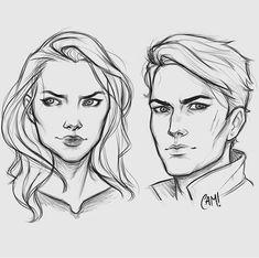 Feyre and Rhys