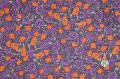 Purple/Orange Floral Jersey
