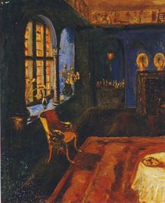 """blue-storming: """" Winston Churchill, The Blue Room at Lympne """""""