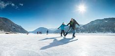 Weissensee Eislaufen Klagenfurt, Mount Everest, Skiing, Mountains, Nature, Travel, Ice Skating, Ski, Naturaleza