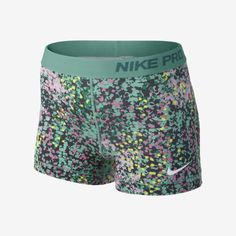 "Nike 3"" Pro Core Spandex Compression Printed Women's Shorts"
