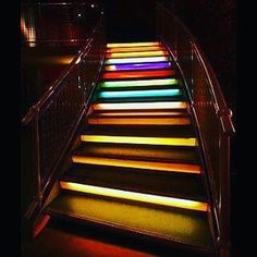 Colorful staircase  #amazing #art #great #interior #architectural #design #idea #instaart #instapic #naturlovers #follow4follow #like4like #interiordesign #archidaily #colorful #staircase #instagood