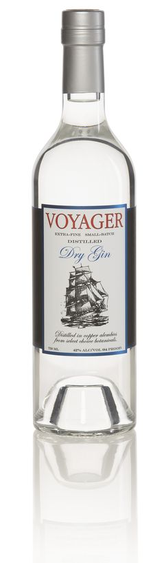 Voyager Dry Gin by Pacific Distillery PD
