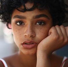 Eyebrows and freckles | BROOKE TESTONI PINTEREST