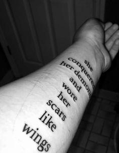 28 Ideas For Tattoo Ideas Inspiration Sentences Future Tattoos, New Tattoos, Body Art Tattoos, Small Tattoos, Cool Tattoos, Tatoos, Scar Tattoo, Cover Tattoo, Piercing Tattoo