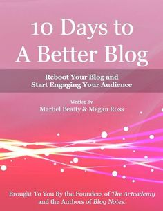 In this book you will learn how to kick-start your blog so you can start producing content that is valuable, enticing and fun for your audience to read. Over the course of 10 days you will learn how to reconnect with your audience and start building something extraordinary.