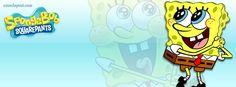 SpongeBob Huge Eyes Facebook Cover CoverLayout.com