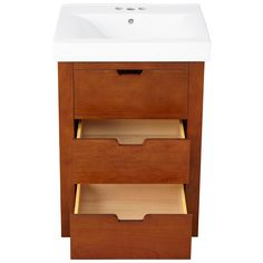 "24"" Morey Vanity - Oak - Bathroom Vanities - Bathroom"