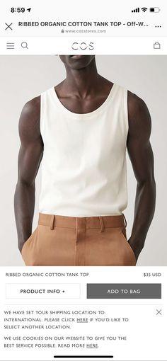 Summer Smart Casual, Tank Man, Mens Tops, Fashion, Moda, Fashion Styles, Fashion Illustrations