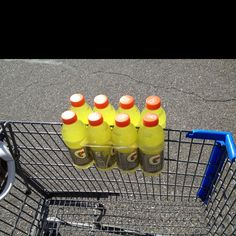 Instead of taking up space in the cart!
