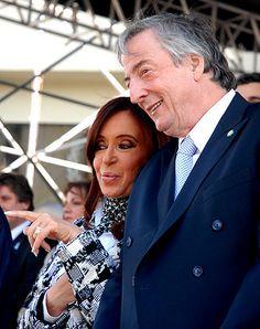 Néstor y Cristina 9 de julio de 2010 en Tucumán
